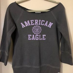 American Eagle off the shoulder Sweater shirt!